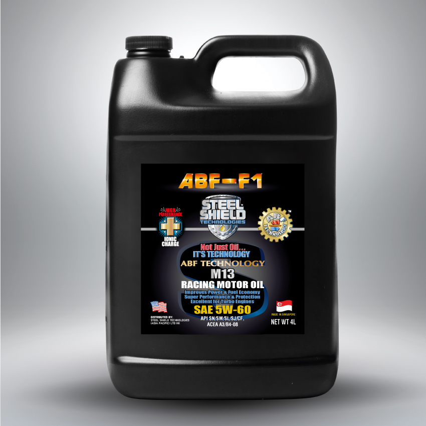 Steel shield abf f1 m13 motor oil for Where can i get rid of used motor oil