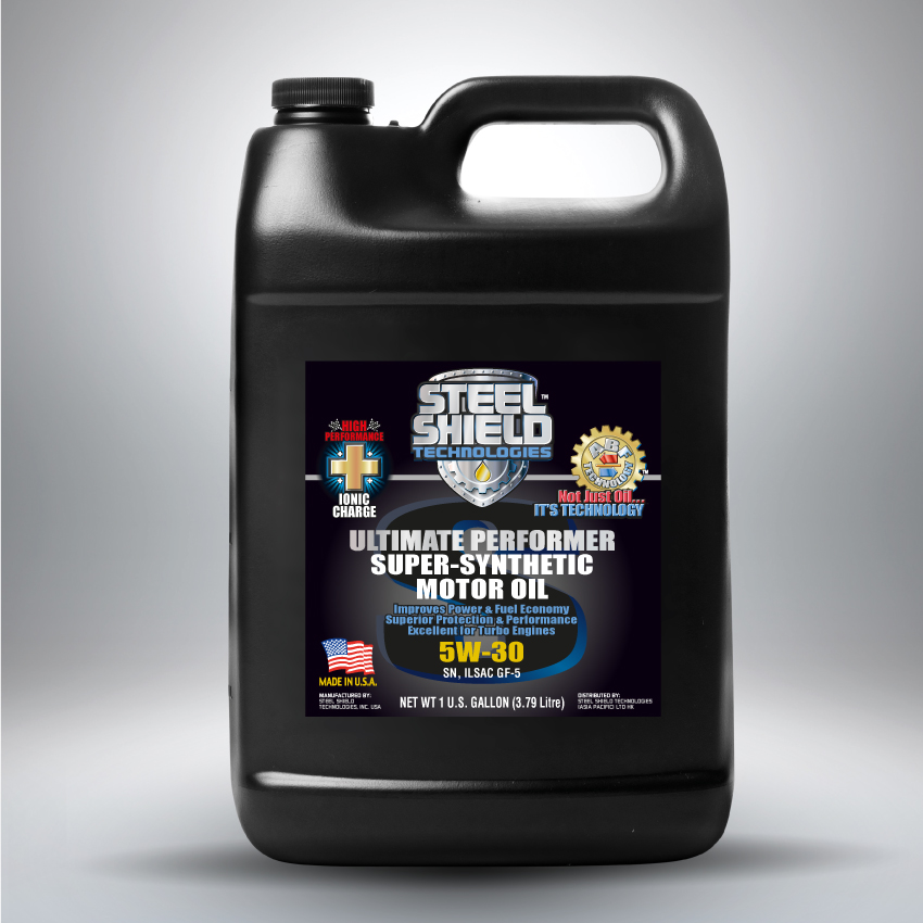 Steel shield super synthetic motor oil for How long does synthetic motor oil last